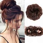 Vigorous Magic Messy Extensions Pin Accessories Donut Synthetic Afro Chignon Hair Pieces Maker Hair Bun
