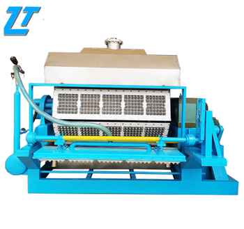 ZengTuo small paper molded pulp egg tray carton making machine recycling egg tray production line