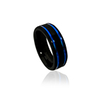 Wedding Band Black New Arrival Simple Wedding Band Matte Black Men Tungsten Carbide Ring