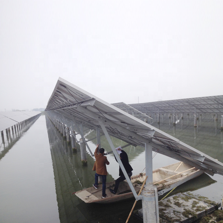 Плавающая солнечная панель, монтажная конструкция, кронштейн, фотоэлектрические стенты, плавающая Солнечная монтажная конструкция для солнечной электростанции