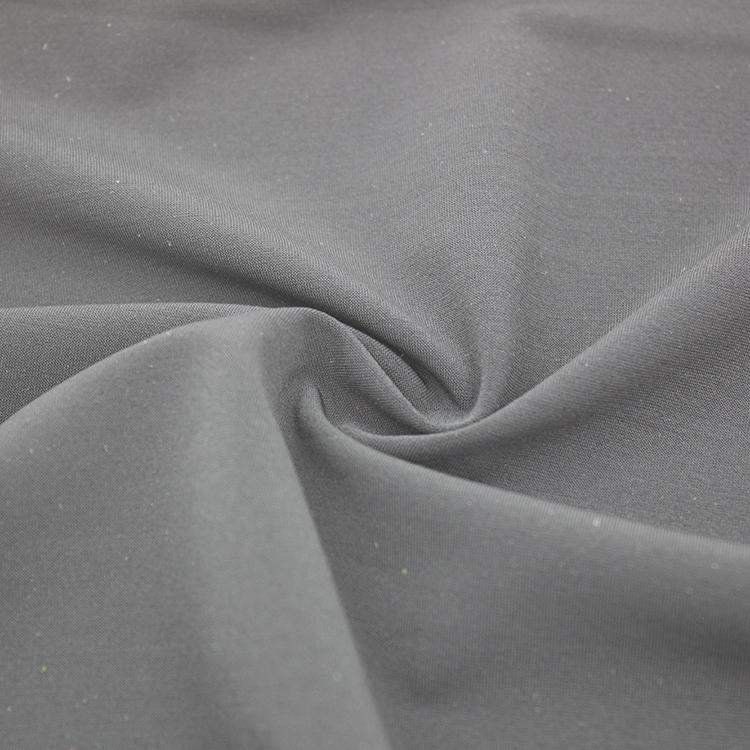 73nylon 27spandex super soft 4 way stretch elastic breathable free cut black textile fabric