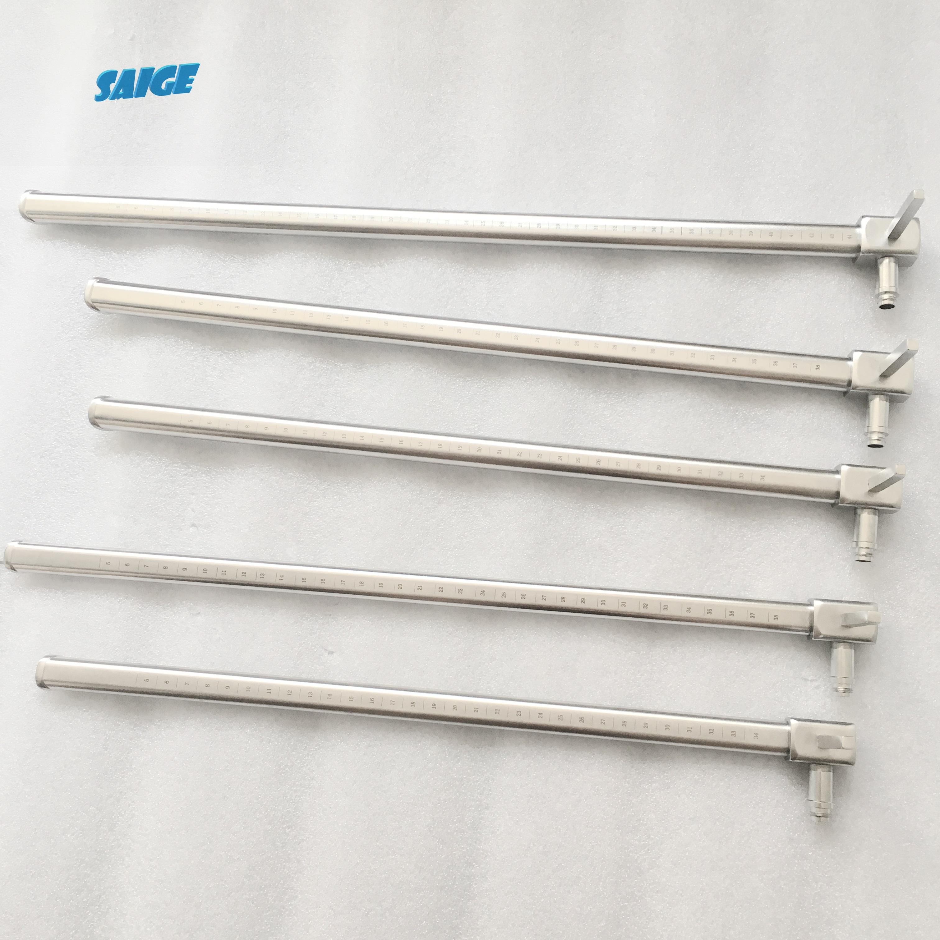 ENT Esophagoscopy set/Esophagoscope tube with fiber