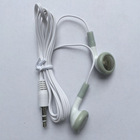 Cheapest Disposable Earphone Low Cost 3.5mm Wired Music Headphone Headset Mp3 Mp4 Earbuds for Apple Nano Ipod