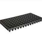 XQB98 Seed Plastic Trays 98 Holess PS seed start tray for nursery of vegetables Support 0.4mm to 1.5mm seed nursery tray custom