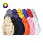 High Quality Custom Printing Embroidery Logo Pullover Unisex 100% Cotton Hoodies