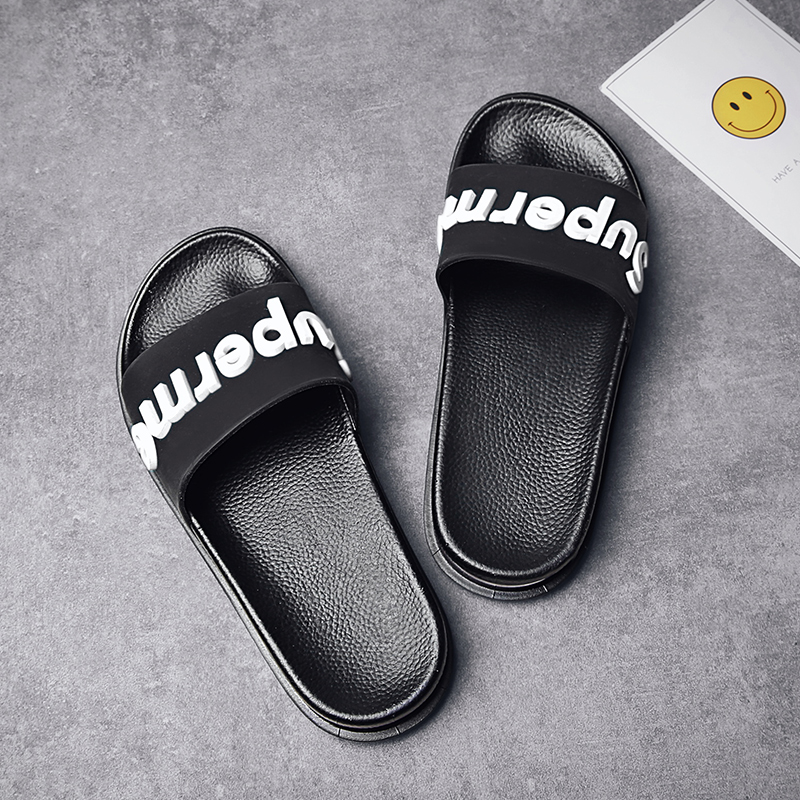 Hot selling of premium OEM factories air cushion sandal slides for male