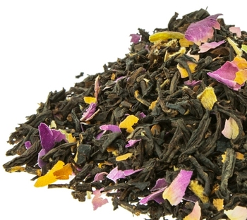 Custom Chamomile Osmanthus Rose Black Tea Sencha Chinese Flavoured Blended Blend Cha Chai Detox Herbal Tea