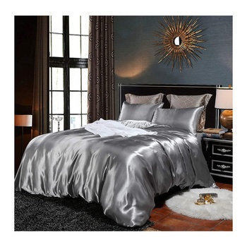 Luxury OEKO-TEX Bed Sheets Silky Satin Bedding Set Duvet Cover