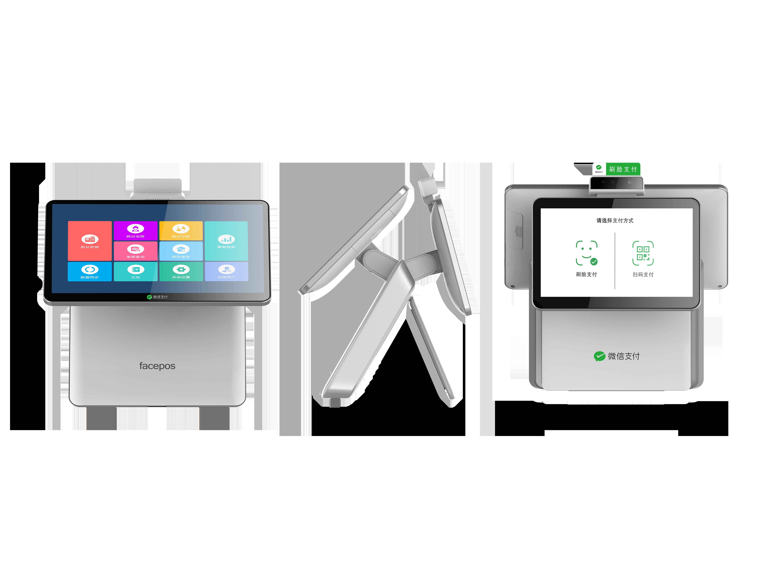 15,6 дюймовый алюминиевый сплав для супермаркета, ресторана, двойной экран, POS-терминал, кассовый аппарат, сенсорный POS-терминал