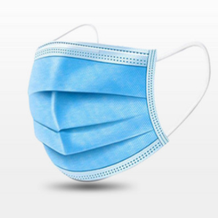 Face Mask Disposable 3Ply Face Protection Mask Wholesale 3-Ply Disposable Face Mask - KingCare   KingCare.net