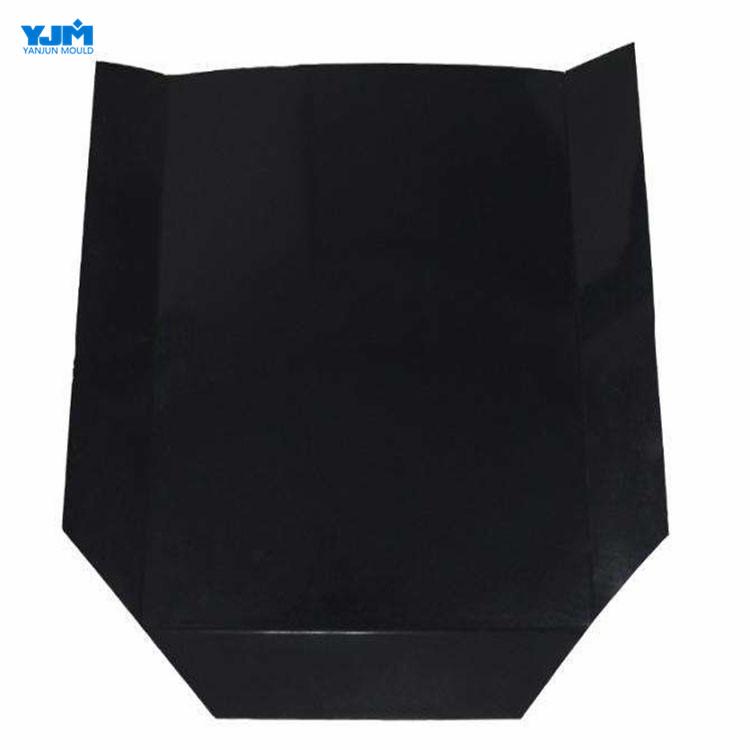 Factory Manufacture Foldable Disposable Black HDPE Plastic Slip Sheet
