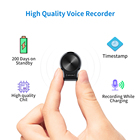 Digital Recorder Audio Digital Recorder QZT Mini Spy Digital Voice Recorder Support Audio Activated Long Time Recording