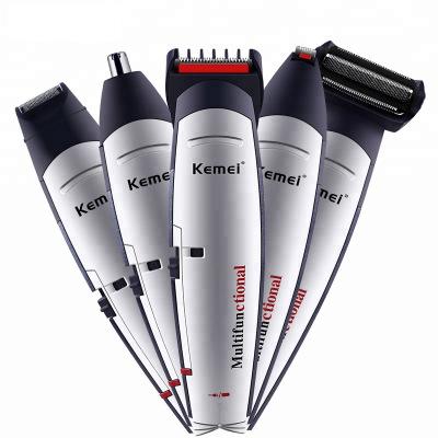KM-560 пять-в-одном контейнере Набор парикмахера для бритья для ремонта машинка для удаления волос Бритва