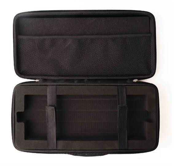 Protective Creative Custom LOGO Black Oxford EVA Gaming Keyboard Mechanical Keyboard Carry Case Eva Bag For Shock Compression