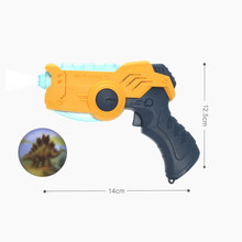 Звуковой электрический и светильник, Проекционные игрушки, маленький пистолет, имитационный пистолет, звуковой электрический и светильник...(Китай)