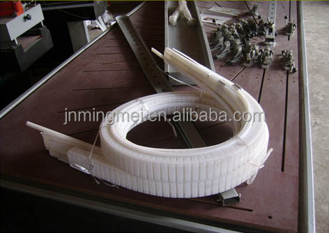 Arch pvc window door making pvc profile bending machine