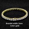 5mm Gold Bracelet