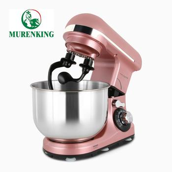 Convenient food mixer with stainless steel bowl