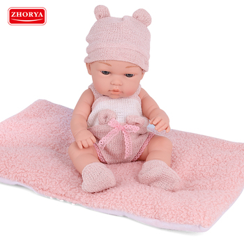2020 Hot selling wholesale 12 inch soft silicon clothes alive newborn reborn baby dolls toy for girls boys