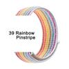 39 Rainbow Pinstripe