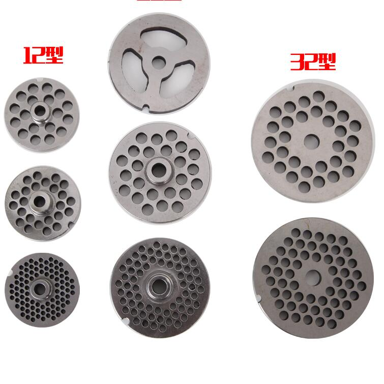 stainless steel meat grinder cutting plate mincer cutting plate