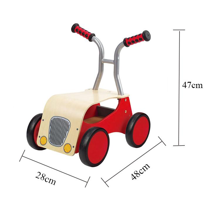 Краска на водной основе, детская игрушка, веселая движущаяся деревянная игрушка, производитель автомобилей, Балансирующий велосипед