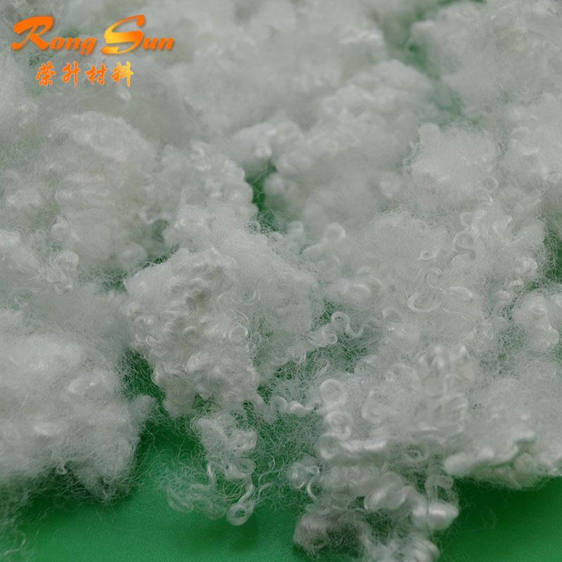 Полиэфирное синтетическое волокно, низкоплавкое полиэфирное волокно, перерабатываемое Полиэфирное штапельное волокно