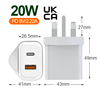 20W UK PD & QC Charger