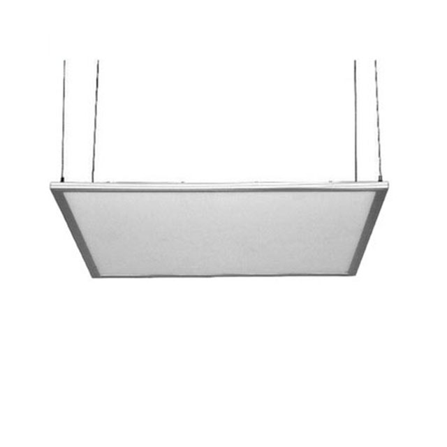 manufacture price  600x600mm Ultra slim led panel light with white/ silver aluminum frame 48w led panel light for office