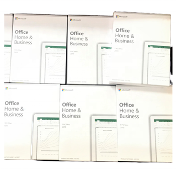 Retail package activation online 2019 home and business microsoft office license