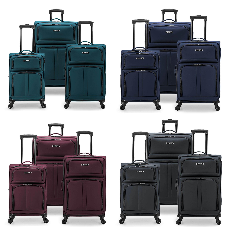 Ультралегкий чемодан из ткани «Оксфорд» для путешествий, 3 шт. в комплекте, чемодан из ЭВА, чемодан на колесах 360, комплекты чемоданов на колесах, нейлоновый чемодан