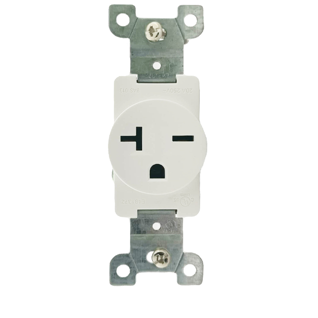 250 V 20 A Wall Outlet 6-20R nema Straight Blade Receptacles MANUFACTURING wall socket