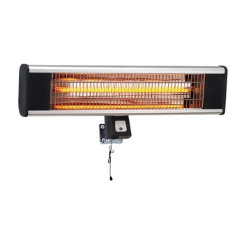 CE GS Approval Waterproof Carbon Fiber Outside Heater Electric Wall Mounted Heater
