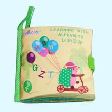 Детские развивающие игрушки, детские мягкие тканевые книги, нетоксичные тканевые книги, развивающие тканевые игрушки, детские Игрушки для ...(Китай)