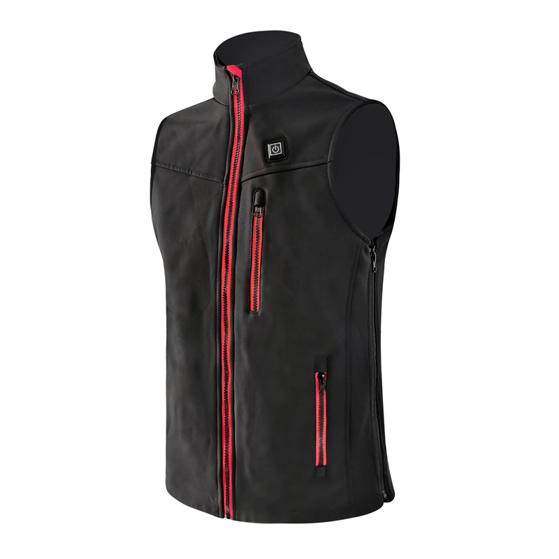 Best electric USB battery unisex warming heated motorcycle vest without hoodie for men and women
