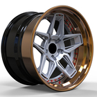 Forged Wheels Forged Customized Luxury Monoblock 2 Piece 3 Piece Forged Alloy Wheels For High End Racing Cars