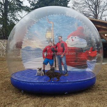 Special Holiday Events Life Size Inflatable Snow Globes