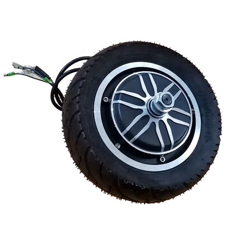 10 Inch Brushless BLDC 48V 1000W Hub Motor for E-scooter Ebike