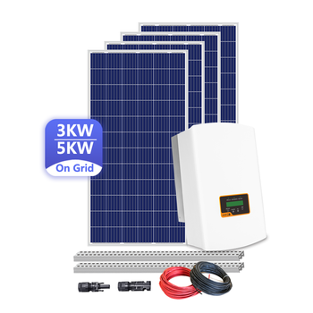 5 Kw On Grid Solar System Solar Home Panel Solar System