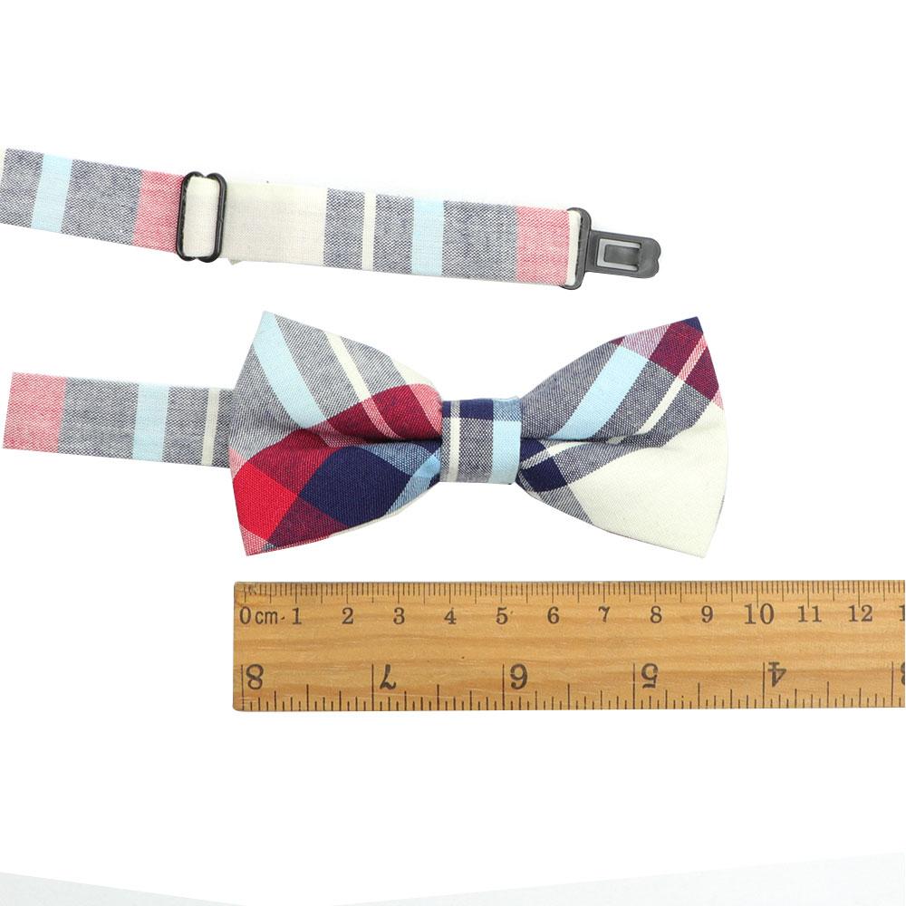 Классический Детский костюм, галстуки-бабочки для маленьких мальчиков, Модный хлопковый регулируемый галстук-бабочка в полоску, детский двухцветный галстук-бабочка