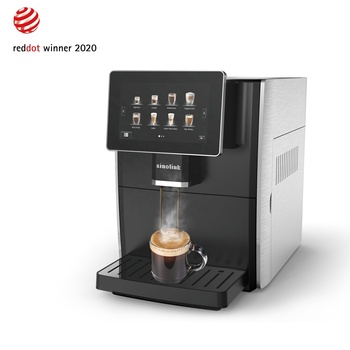 Professional Touch Screen Display Automatic Expresso Coffee Machine