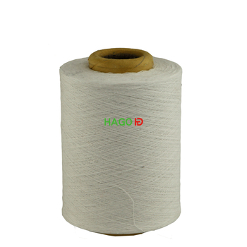 chunki thick recycled cotton polyester yarn for knit in single ply yarn