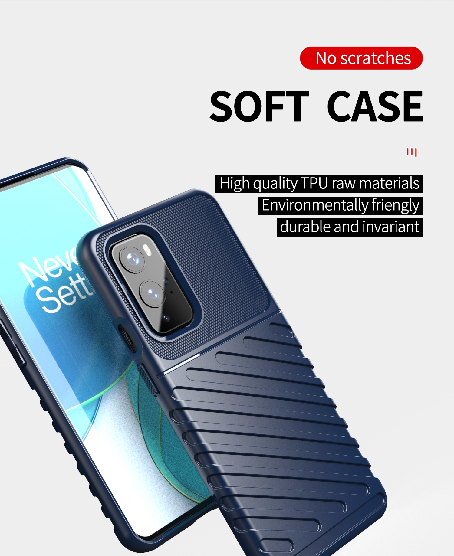 Shockproof TPU Mobile Back Cover For oneplus 9 phone case