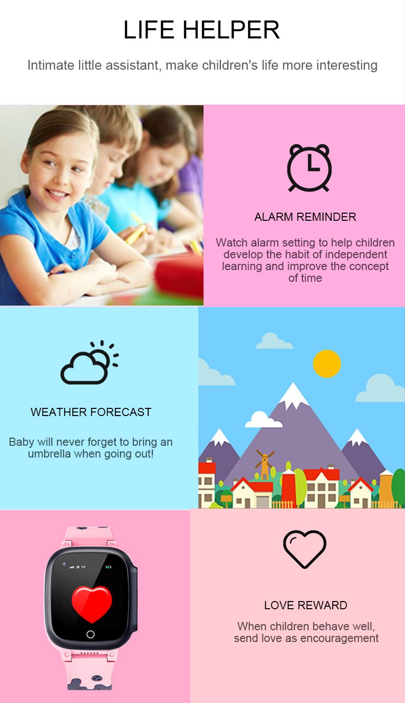 Детские Смарт-часы LT25 4G Amazon OEM/ODM оптовая продажа 2021 новый продукт Gps Sos Wifi водонепроницаемые мужские и женские Смарт-часы Android