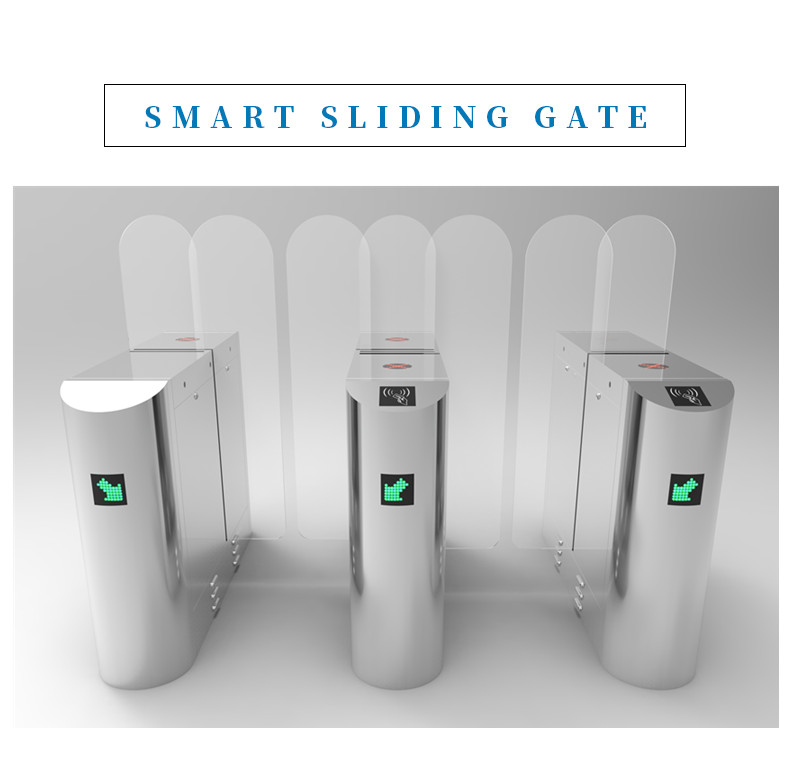sliding barriers gate