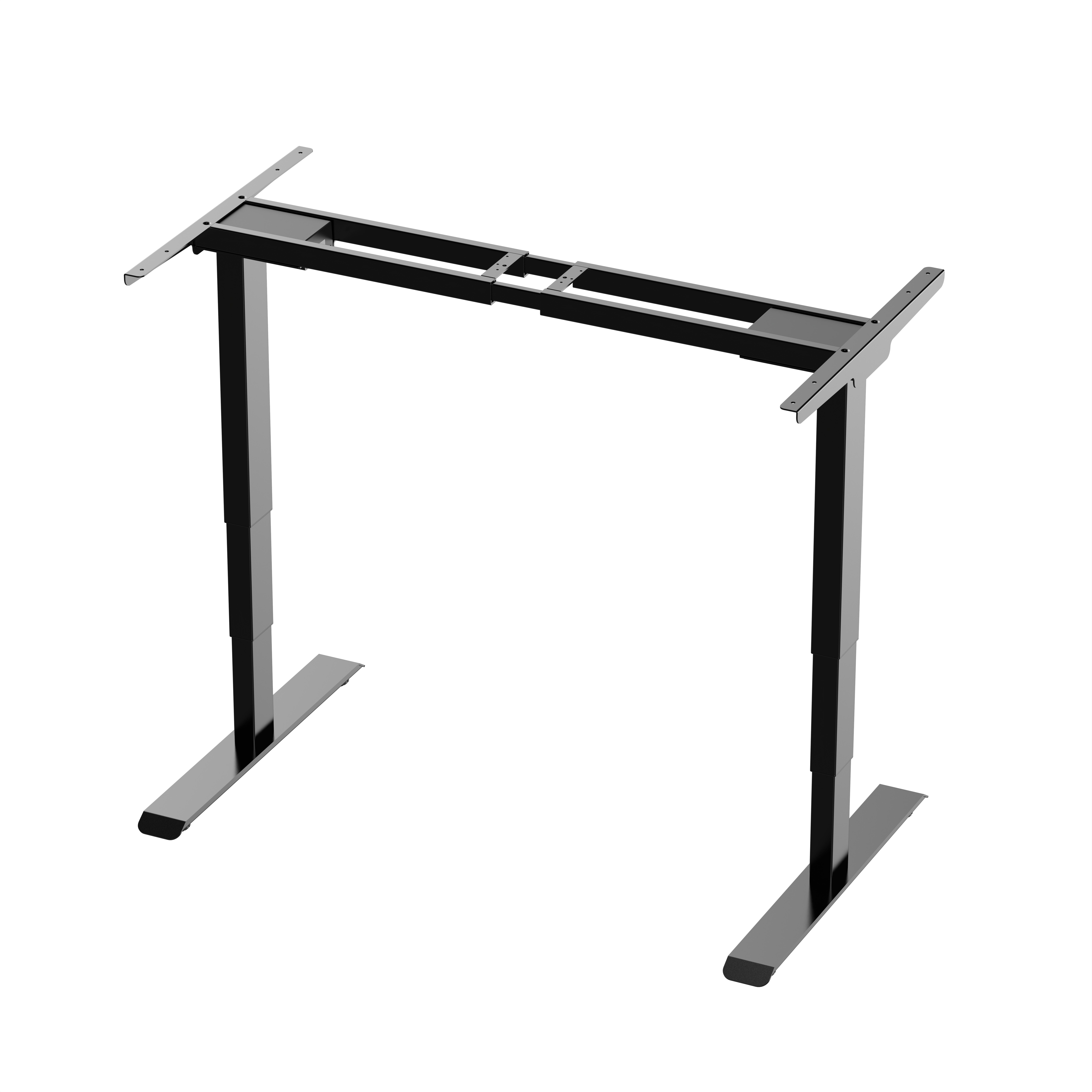 Customize Ergonomic Electric Height Adjustable Sit Stand Lift Desk Dual Motor Frame Electric