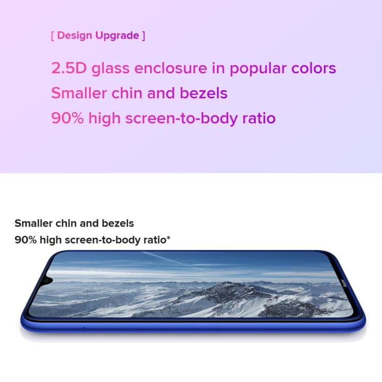 Глобальный официальных версий Xiaomi Redmi Note 8 смартфонов 48MP камера с возможностью съемки видео 4 Гб + 64 Гб мобильные телефоны