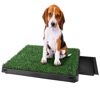 2025D cushion cover dog lawn potty green grass pee pad pet potty for dogs