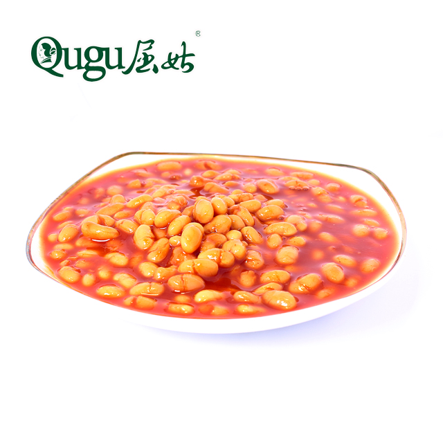 2020 crop canned baked beans in tomato sauce