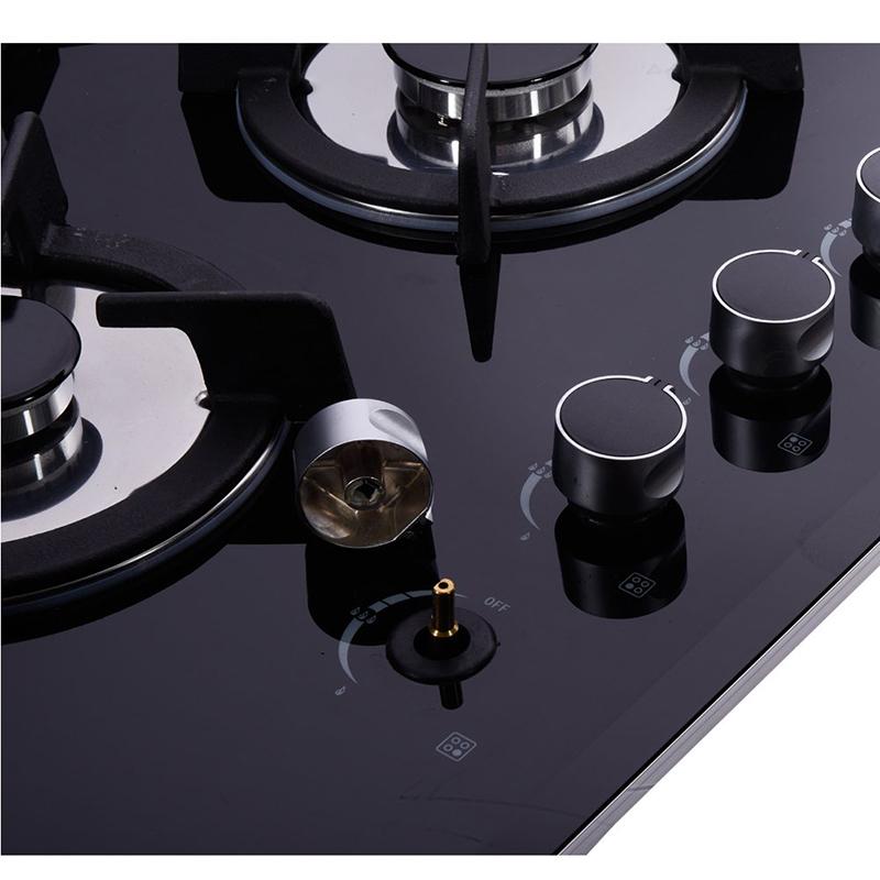 5 горелки газовая плита из закаленного плита со стеклянным верхом приборы для приготовления пищи